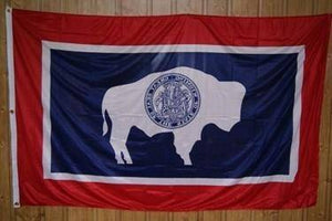 vendor-unknown Flag Wyoming Knitted Nylon 5 x 8 Flag