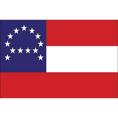 vendor-unknown Flags By Size 3x5 Robert E. Lee Headquarters Nylon Dyed Flag 3 x 5 ft. (USA Made)