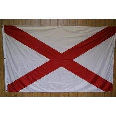 vendor-unknown Flags By Size 3x5 / Super-polyester State of Alabama Flag 3 X 5 ft. Standard