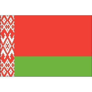 RU Flags By Size Belarus Flag 12 x 18 inch on Stick