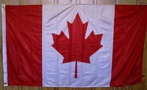 vendor-unknown Flags By Size Canada Knitted Nylon 3 x 5 Flag