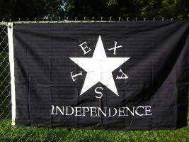 Conrad Texas Independence Flag Made in USA