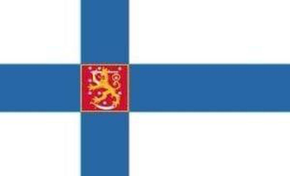 vendor-unknown Flags By Size Finland Valtiolippu Flag 3 X 5 ft. Standard