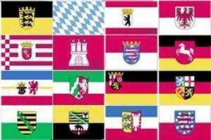 vendor-unknown Flags By Size Germany 16 States Flag 3 X 5 ft. Standard