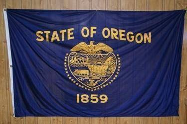 vendor-unknown Flag Oregon Knitted Nylon 5 x 8 Flag