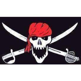 vendor-unknown Flags By Size Pirate Brethren Red Head Wrap Flag 3 X 5 ft. Standard