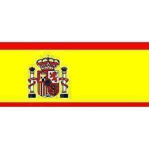 vendor-unknown Flag Spain Flag 4 X 6 Inch pack of 10