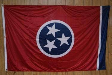 vendor-unknown Flag Tennessee Knitted Nylon 5 x 8 Flag