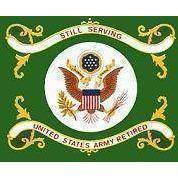 Image of vendor-unknown Flag U.S. Army Retired Flag 3 X 5 ft. Standard
