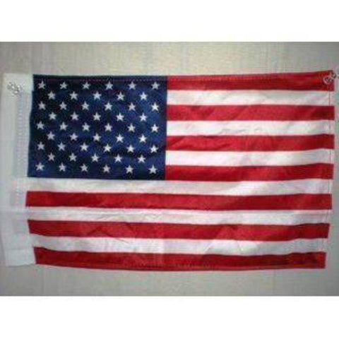 vendor-unknown Flag USA 12 x 18 With Grommets Knitted Nylon Flag