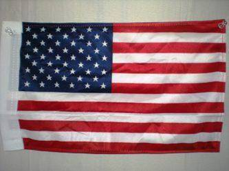 vendor-unknown Flags By Size USA 12 x 18 With Sleeve Knitted Nylon Flag