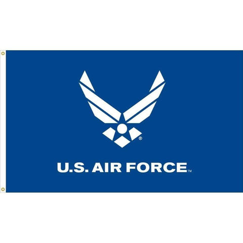 Collins/Eder Flags U.S. Air Force Wings (Blue) Flag 3 X 5 ft. Made in USA