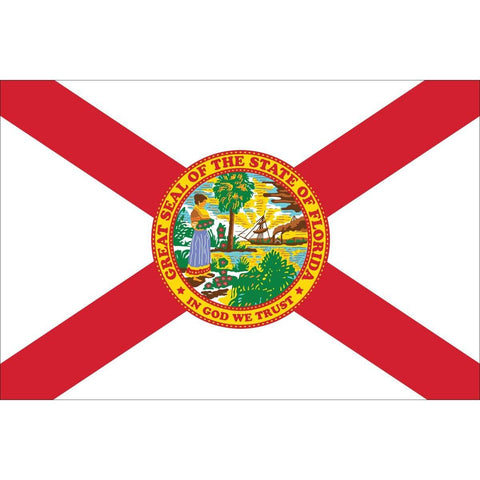 Image of Florida State Flag Made in USA Commercial