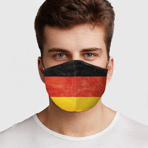Image of German Flag Face Cover Healthcare