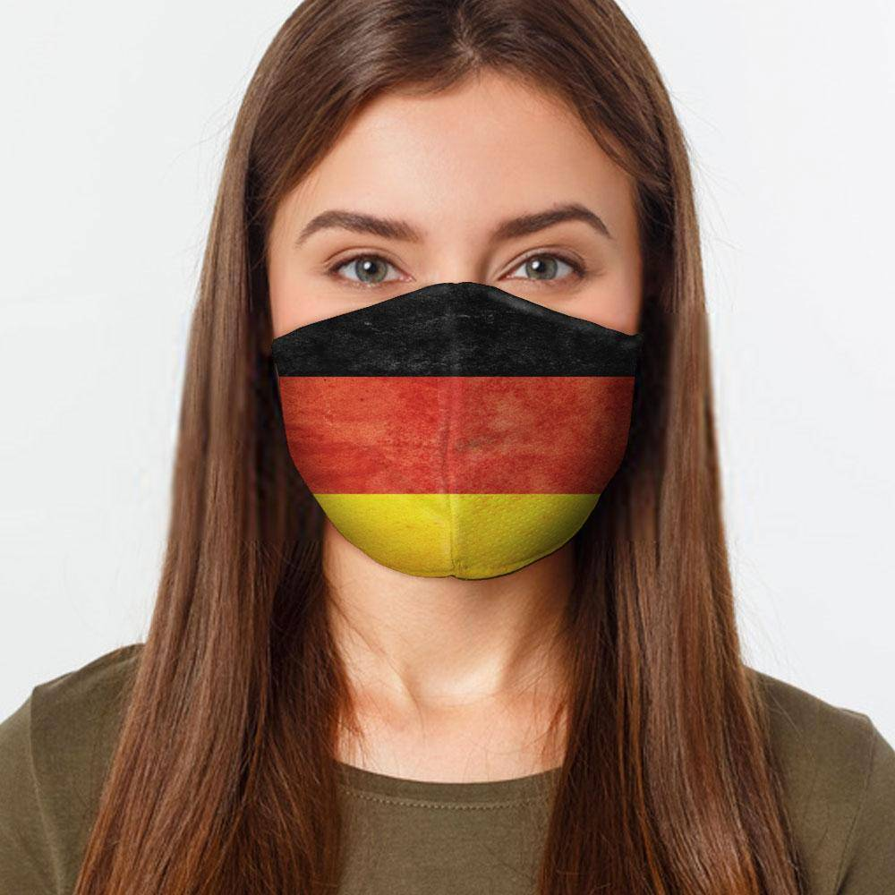 German Flag Face Cover Healthcare