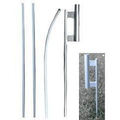 vendor-unknown Hardware And Flag Poles 16 ft. Feather Flag Pole with Ground Spike Kit