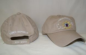 vendor-unknown Hat Conch Republic - Key West -  Khaki Hat Cap