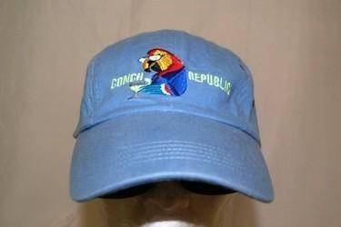 RU Hat Conch Republic - Key West - Parrot Head Hat Cap