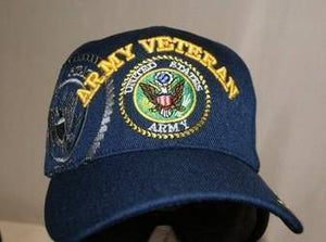 vendor-unknown Hats & Ball Caps Army Veteran Cap