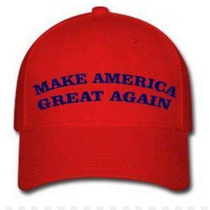 vendor-unknown Hats & Ball Caps Make America Great Again Cap (red with navy)