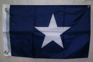 vendor-unknown Historic War Flags Bonnie Blue 12 x 18 inch with grommets