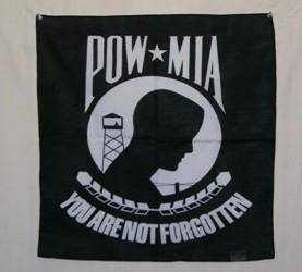 vendor-unknown Historic War Flags POW MIA Bandana