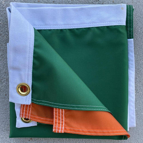 Image of Ireland Flag Cut & Sewn Made in USA