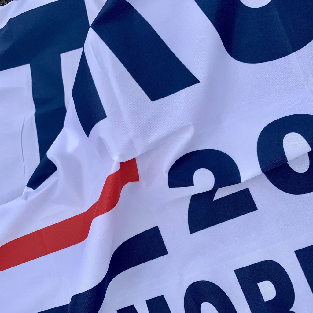 Trump 2020 Flag - No More Bullshit 3X5 Screen Printed (Made In Usa)