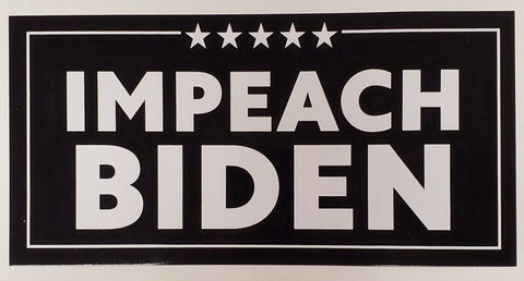 Impeach Biden Flag - Made in USA