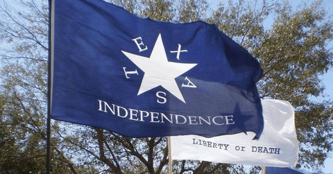 Image of Conrad Texas Independence Flag Made in USA