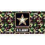 vendor-unknown License Plate U.S. United States Army Star License Plate