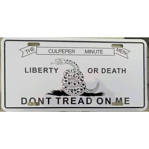 Image of vendor-unknown License Plates and Metal Signs Culpeper Don't Tread on Me License Plate