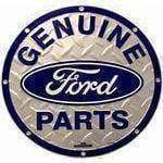 vendor-unknown License Plates and Metal Signs Ford Genuine Parts Circular Sign