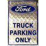 vendor-unknown License Plates and Metal Signs Ford Truck Parking Sign