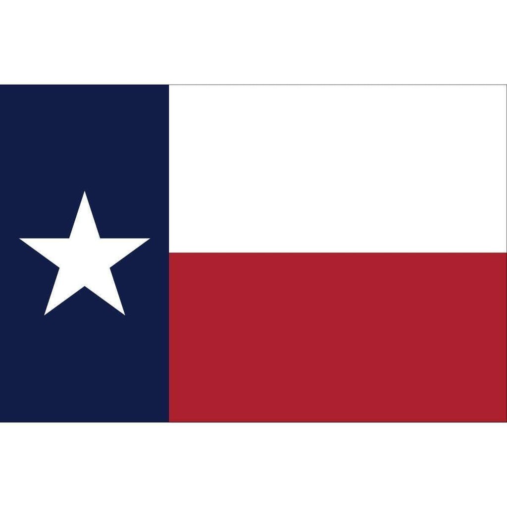 Collins/Eder Made In The USA Texas 4 x 6 ft Poly-Max Flag (USA Made)