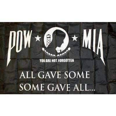 RU Military Flags POW MIA All Gave Some, Some Gave All Flag 3 X 5 ft. Standard