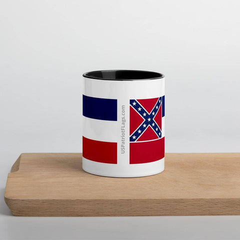 Mississippi Flag Mug with Color Inside
