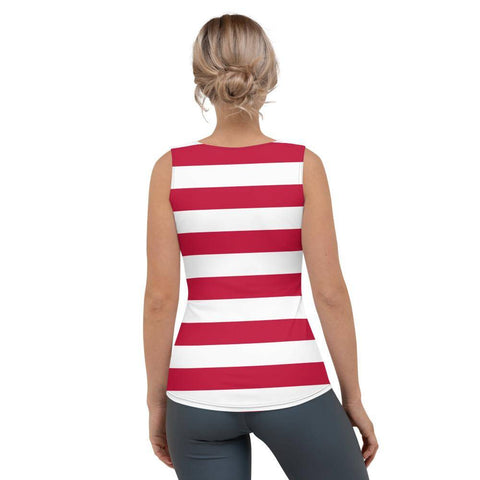 Image of Betsy Ross Flag Sublimation Cut & Sew Tank Top