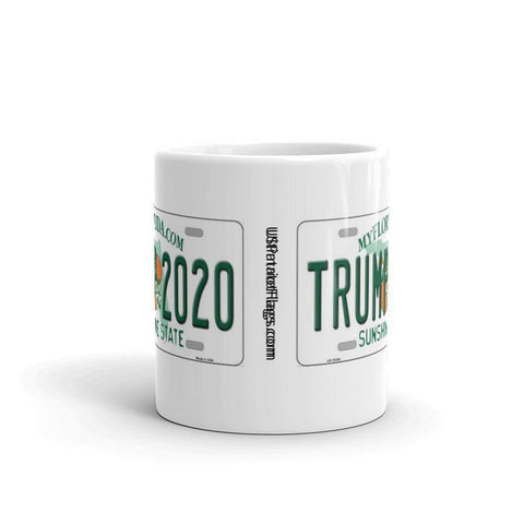 Image of Trump 2020 License Plate Mug
