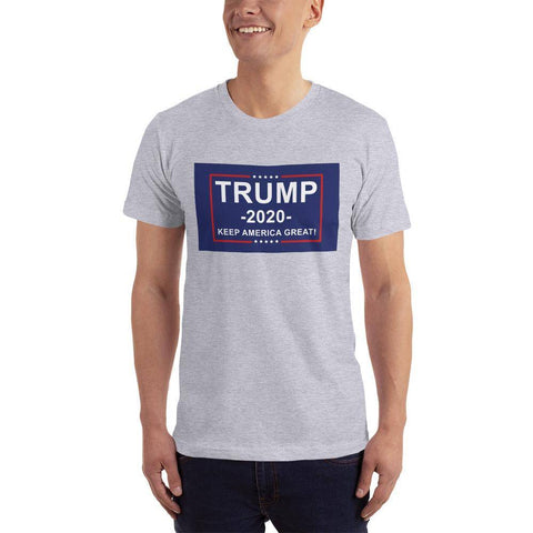 Image of Trump 2020 Keep America Great T-Shirt Heather Grey / Xs