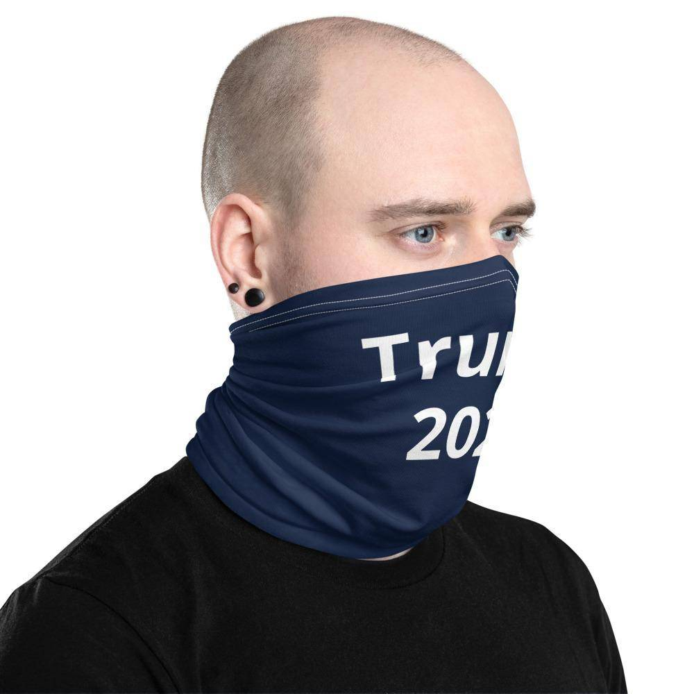 New Trump 2020 Unisex Face Mask Neck Gaiter Black One Size Fits All Washable