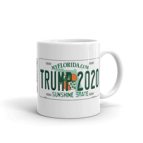 Trump 2020 License Plate Mug 11Oz Coffee