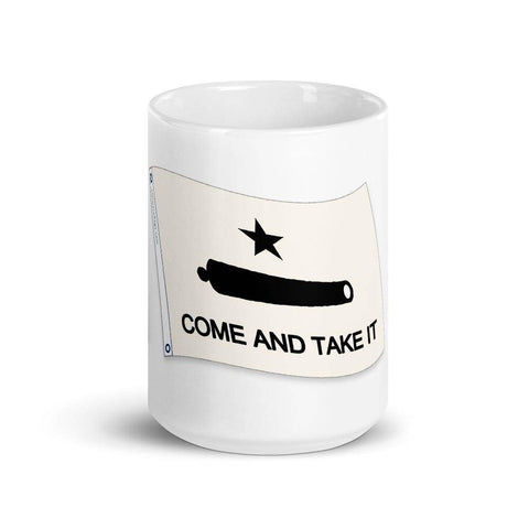 Image of Come & Take It Texas Pride Mug Coffee