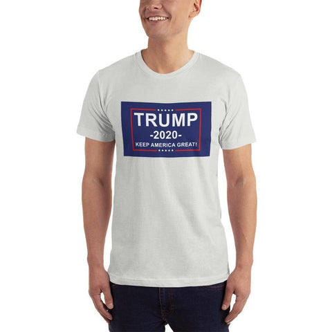 Image of Trump 2020 Keep America Great T-Shirt New Silver / Xs