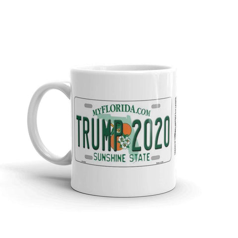 Trump 2020 License Plate Mug Coffee