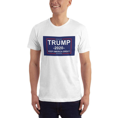 Image of Trump 2020 Keep America Great T-Shirt White / Xs