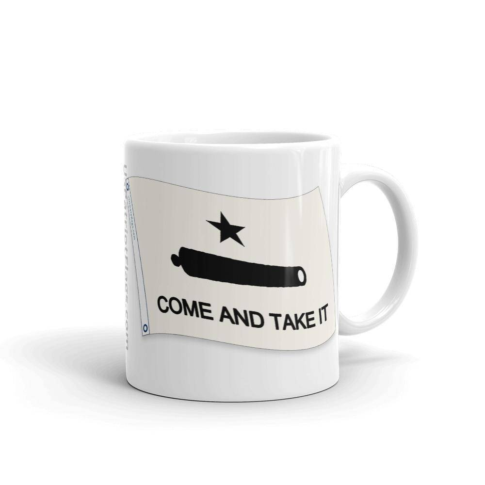 Come & Take It Texas Pride Mug 11Oz Coffee