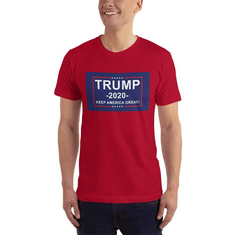Image of Trump 2020 Keep America Great T-Shirt Red / Xs
