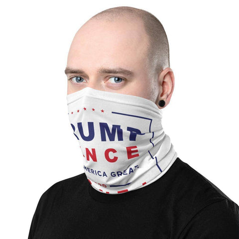 Image of Trump Pence 2020 Keep America Great Neck Gaiter Face Mask