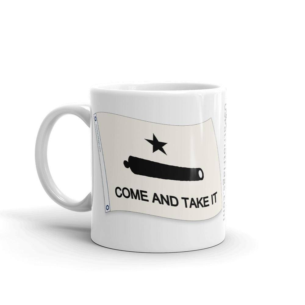 Come & Take It Texas Pride Mug Coffee